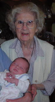 Peri with Great Grandmother